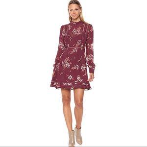 ASTR the label floral print fit & flare dress